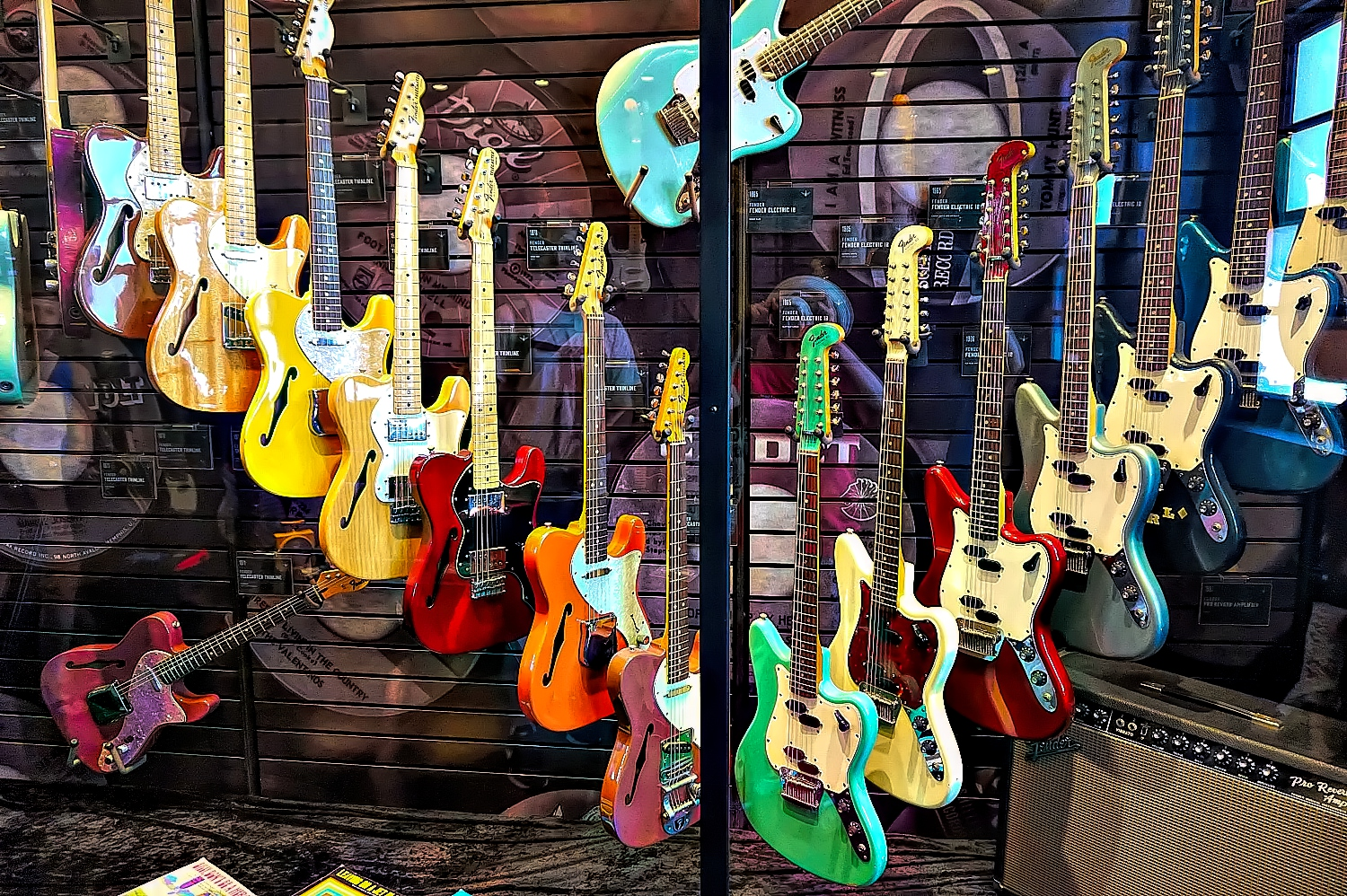 Songbirds Guitar Museum in Chattanooga, Tennessee.