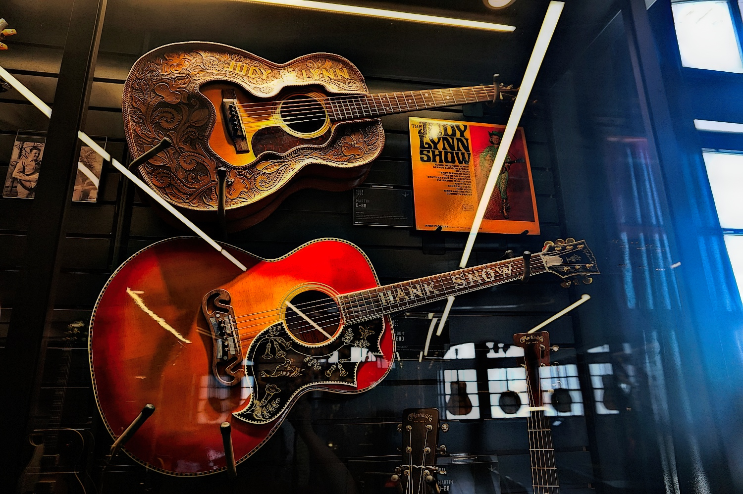 Songbirds Guitar Museum in Chattanooga, Tennessee