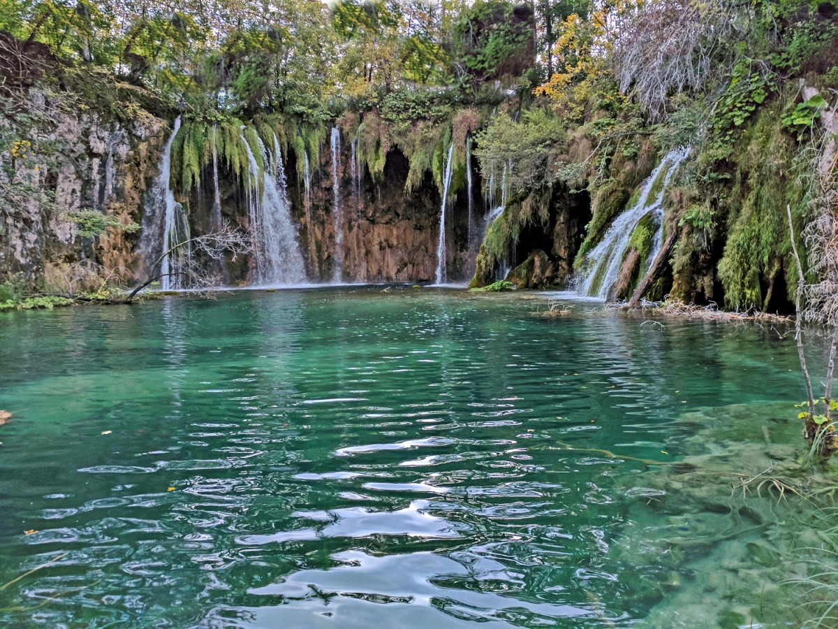 Europe's top natural attraction, Plitvice Lakes.
