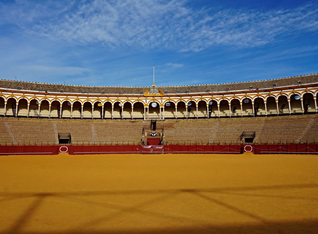 Plaza de Toros in Seville - the bullring.