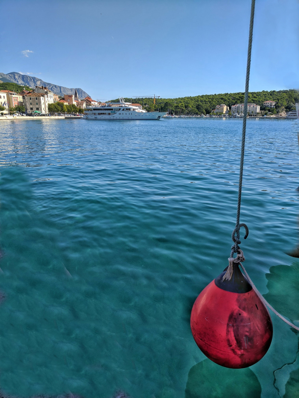 Road trip Croatia. Makarska is a popular beach destination.