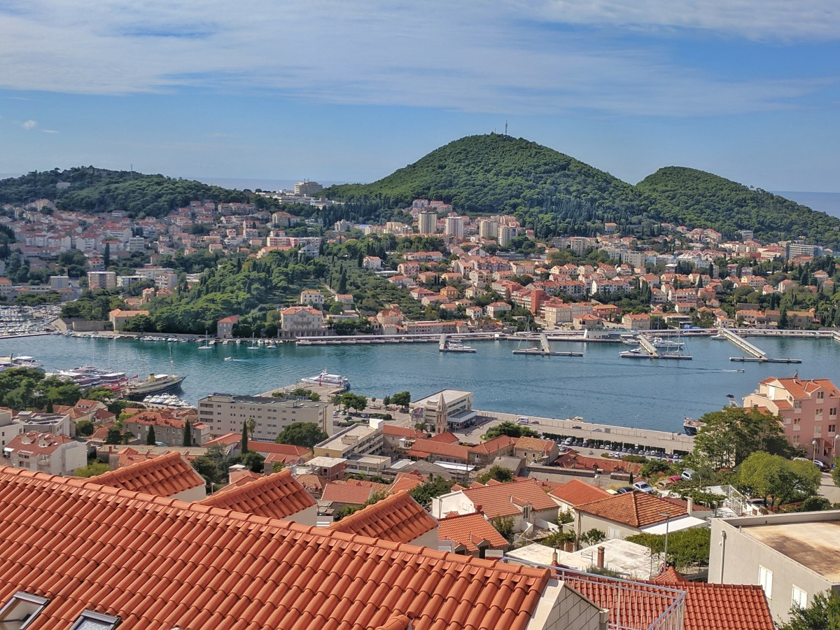Croatia two week road trip. Views of Dubrovnik,