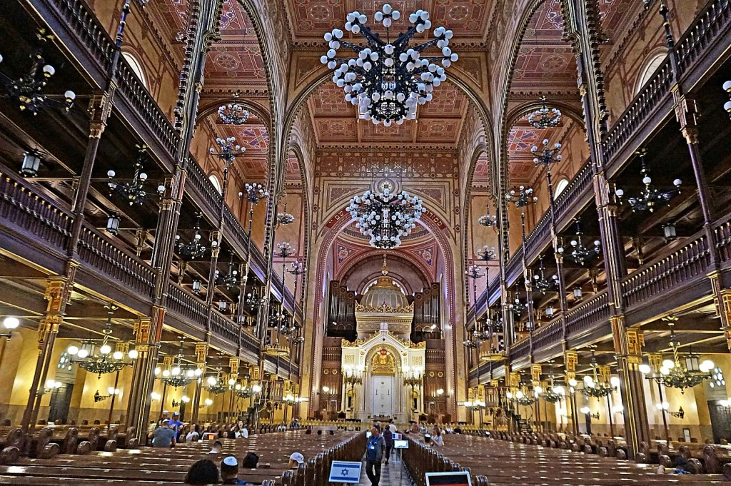 Budapest what to see. Dohany Street Synagogue