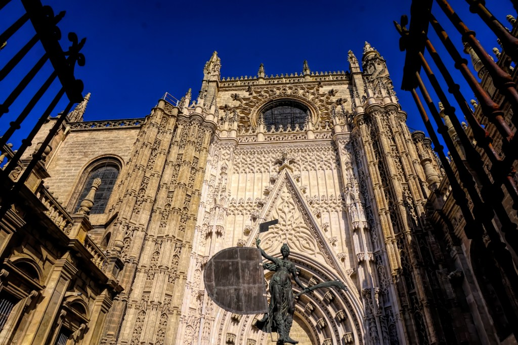 Seville's cathedral, Santa Maria de la Sede, is the largest Gothic cathedral in the world, and is recognised as UNESCO World Heritage.