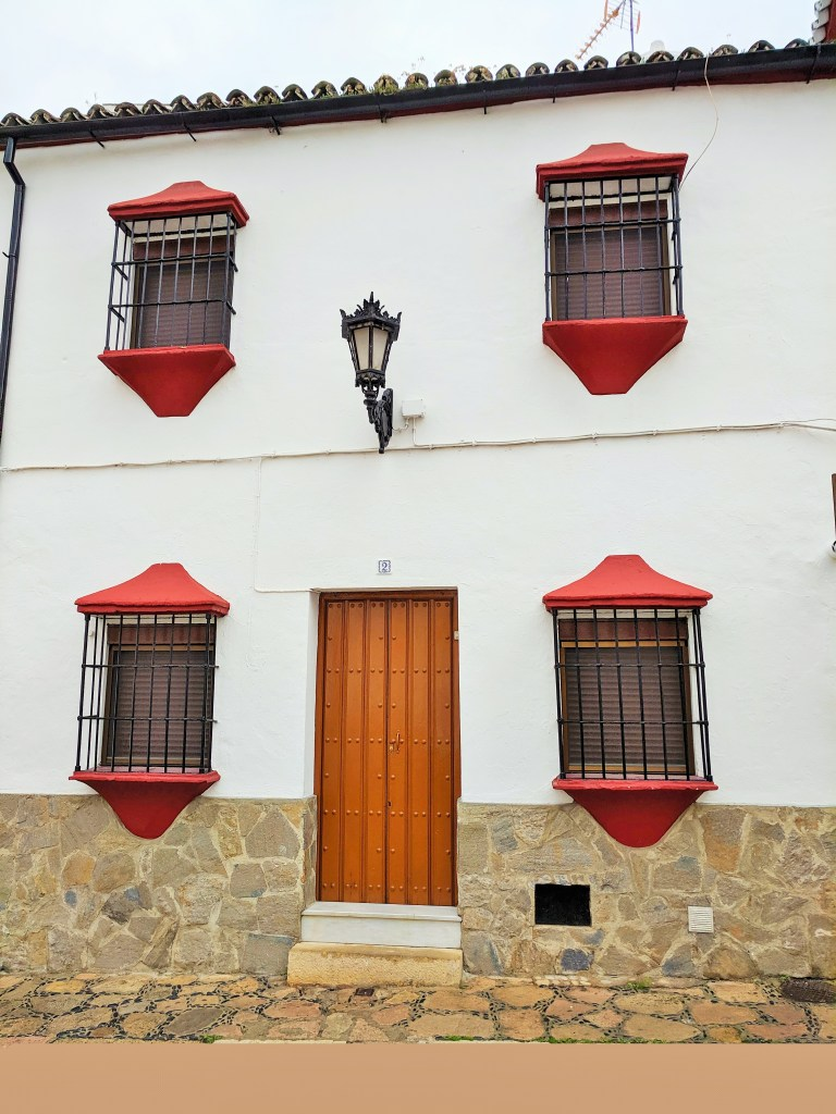 Charming architecture in Ronda, Spain.