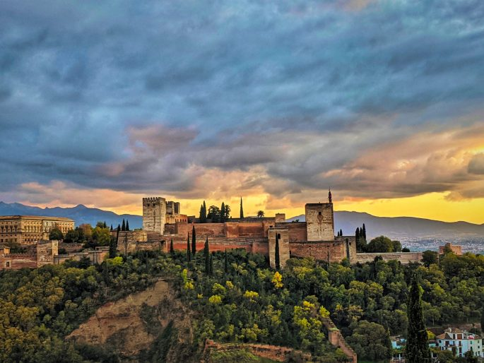 Two weeks in Andalusia, Spain - itinerary. Alhambra in Granada.