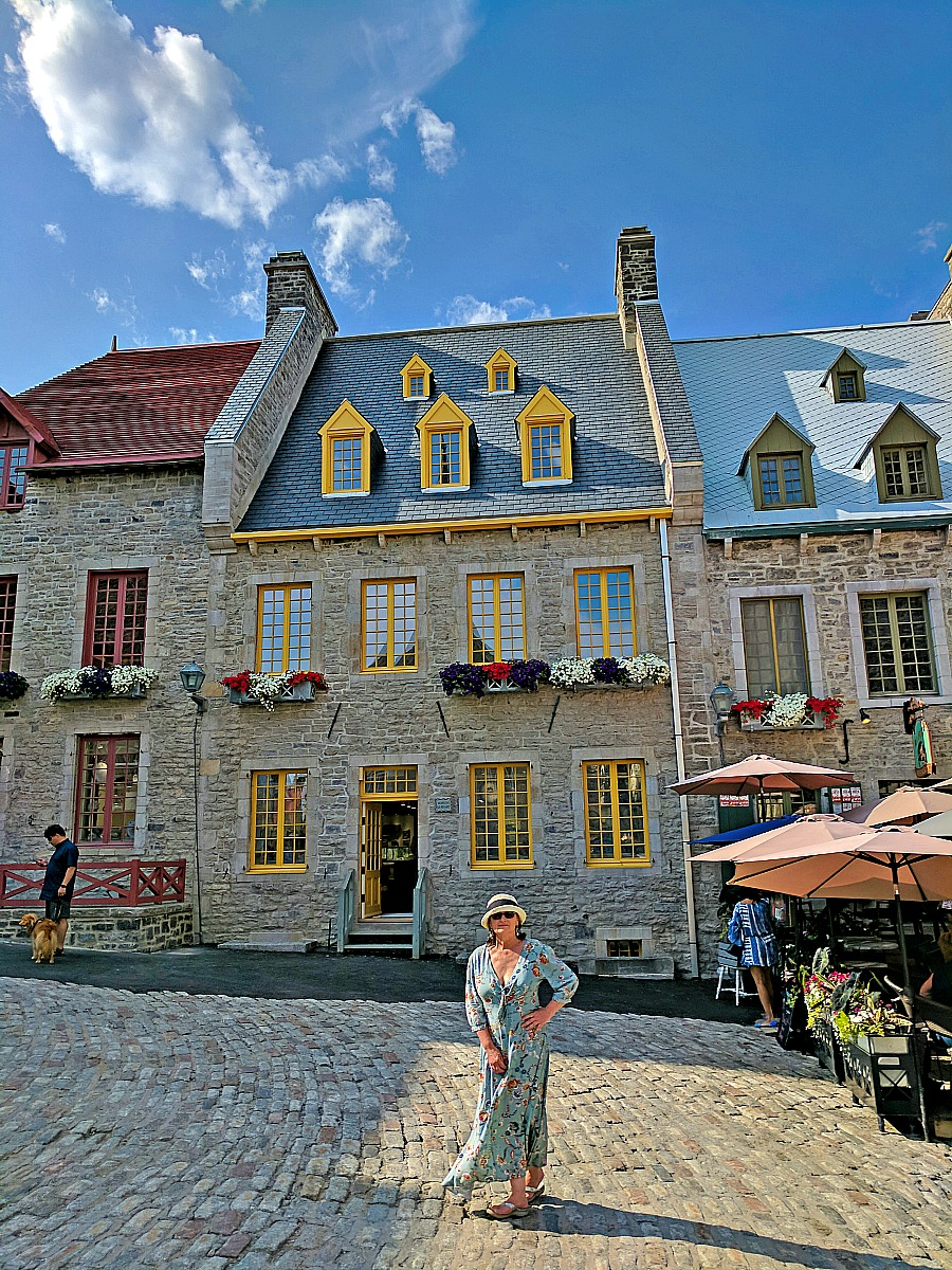In tiny squares like Place Royale in Quebec City, you will feel like time stopped there.