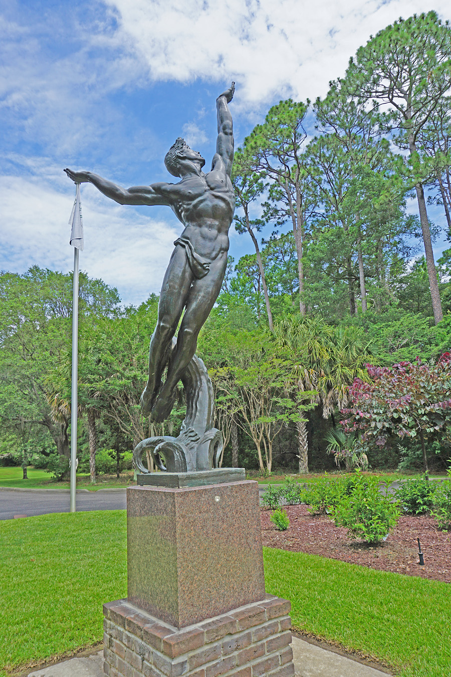 Myrtle Beach, South Carolina. Brookgreen Gardens.