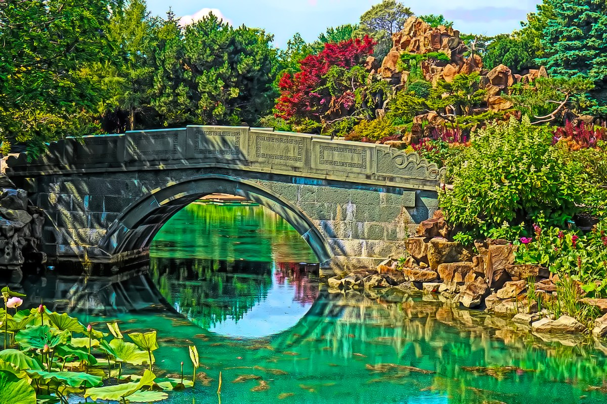 You can easily spend a day enjoying Montreal Botanical Gardens.