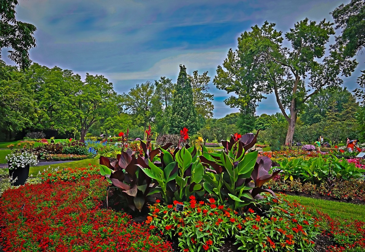 Montreal Botanical Gardens deliver a peaceful break from the city life.