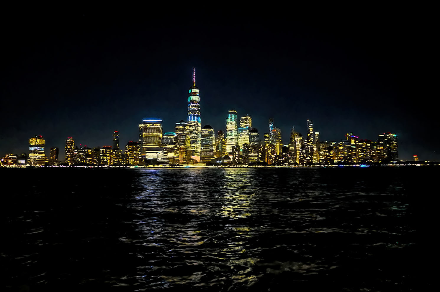 You can't beat these views of Manhattan's skyline.