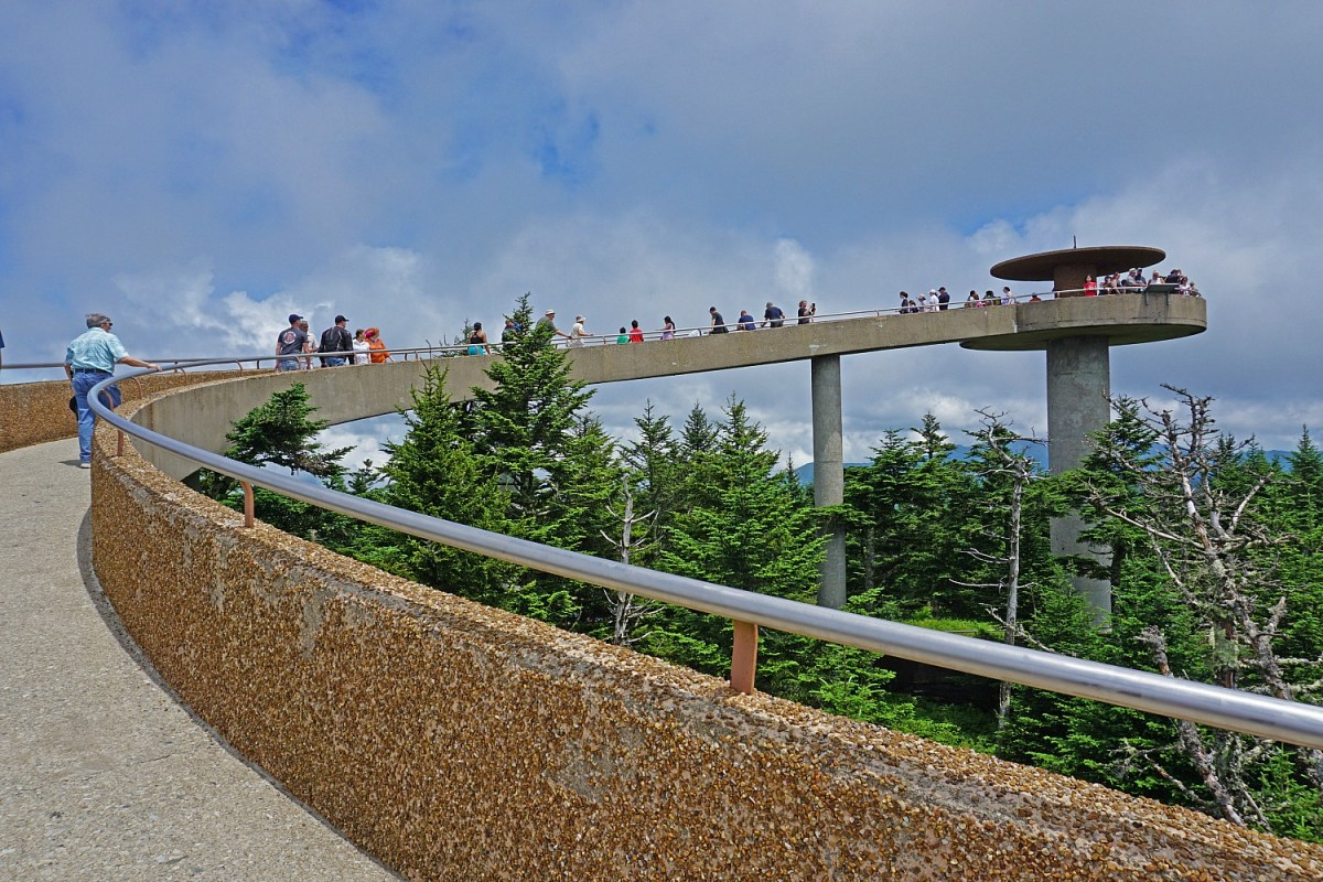 Clingman Dome - the most popular short hike in the park.
