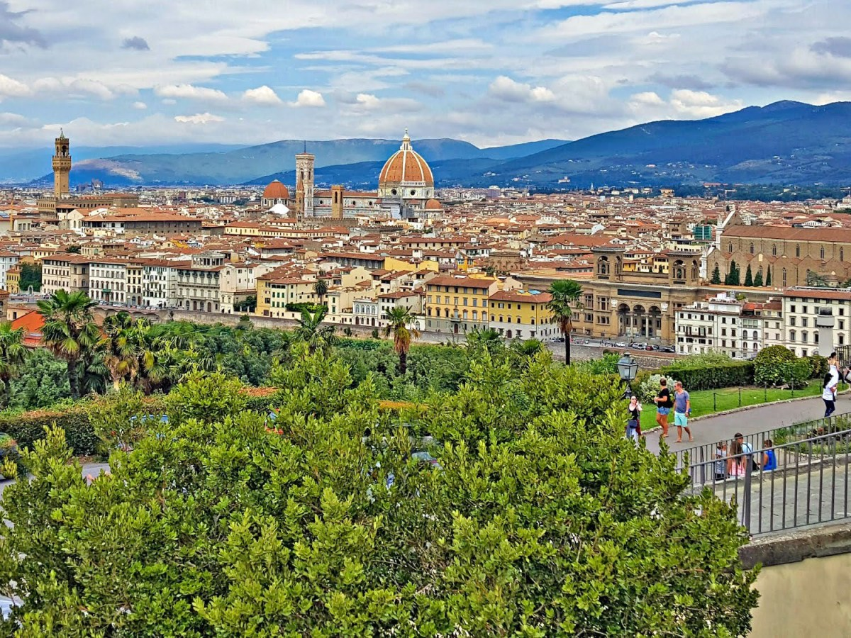 European vacation. Views of Florence, Italy.