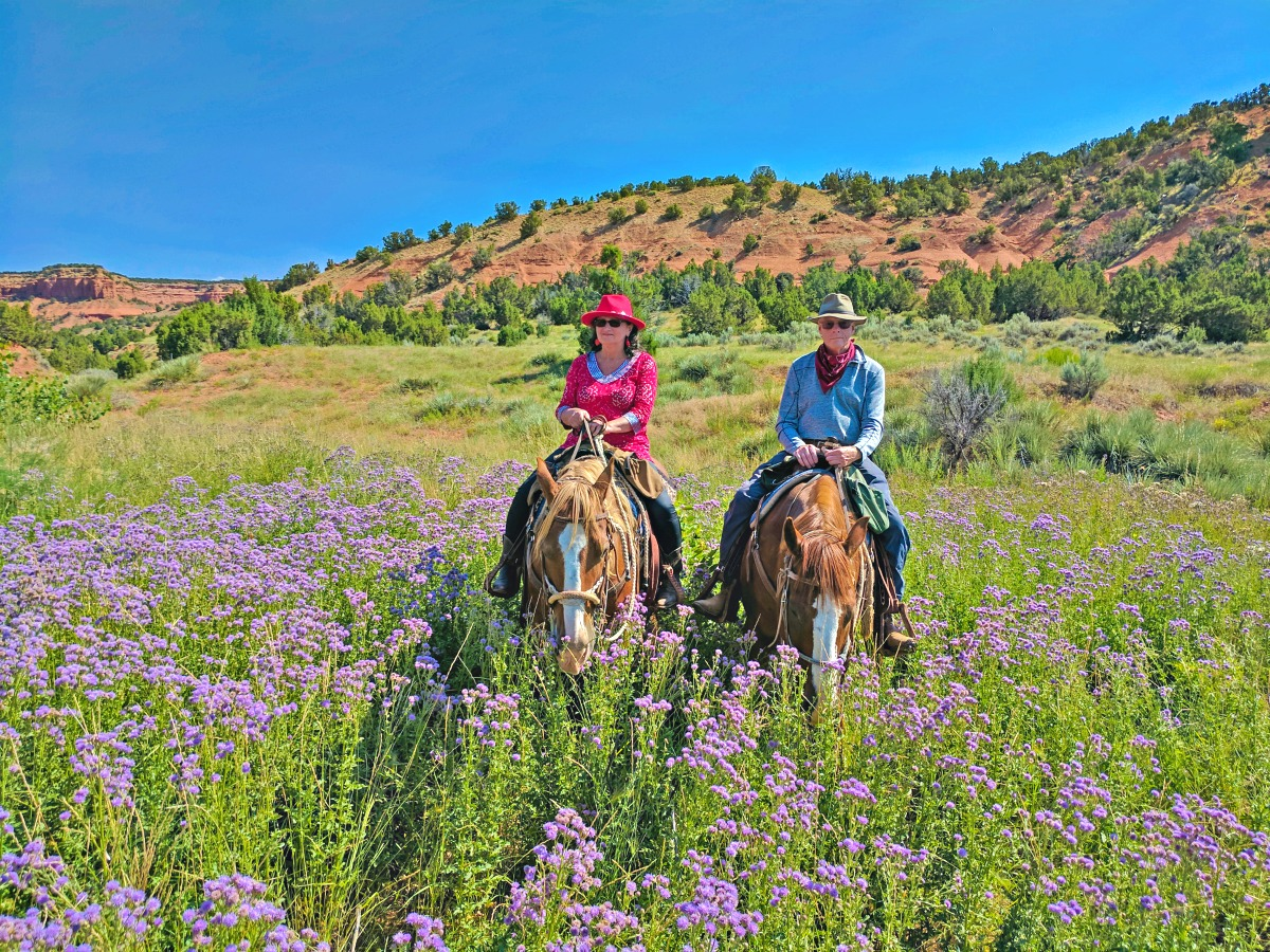 At Red Reflet Ranch, I discovered the joy of horseback riding.