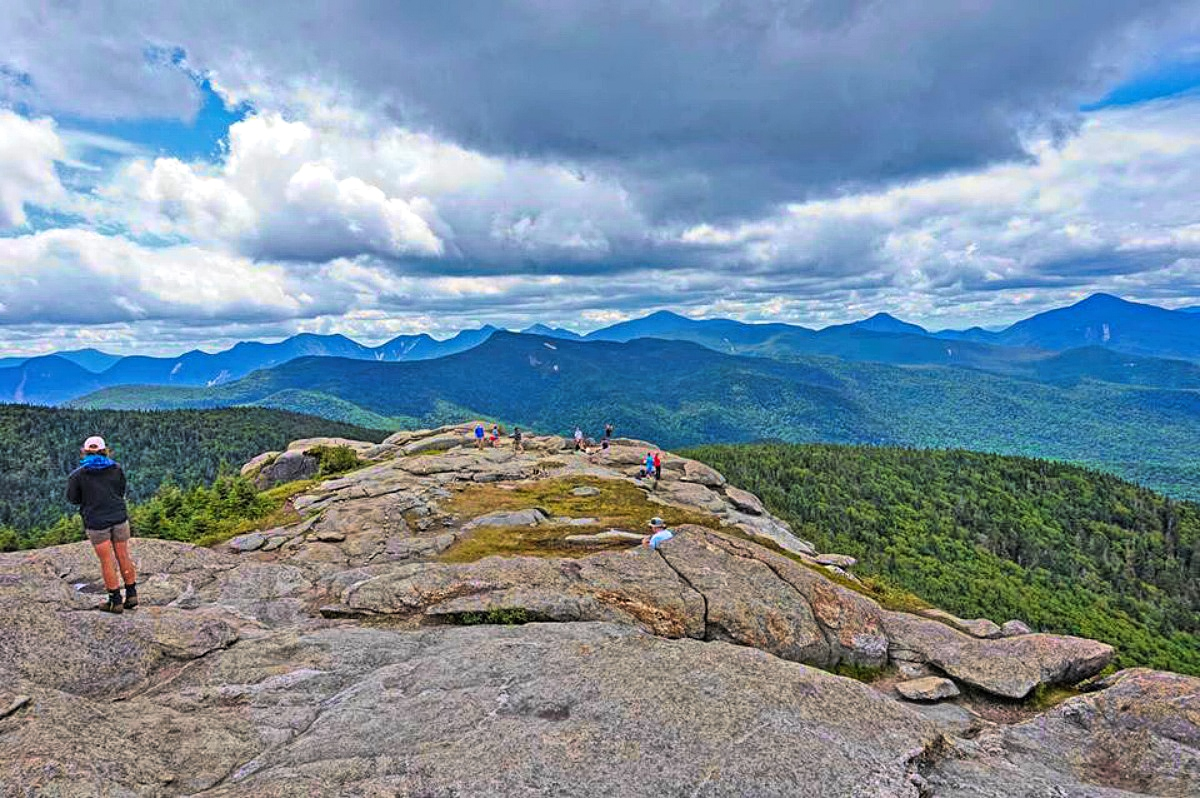 I you are looking for challenging hiking, the Adirondack will satisfy your apetite.