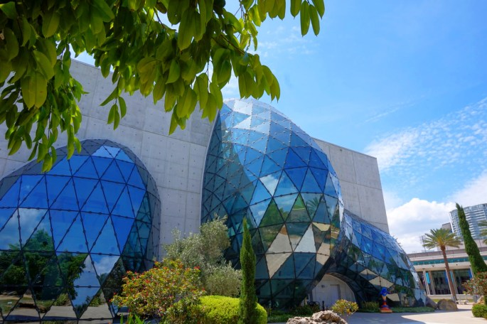 The Dali Museum in Florida, building.