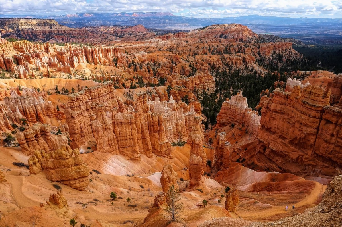 Bryce Canyon National Park, overlook.