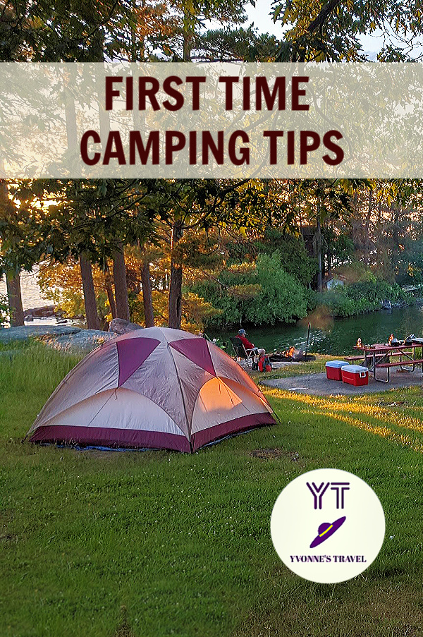 First time camping tips. What you need to know.