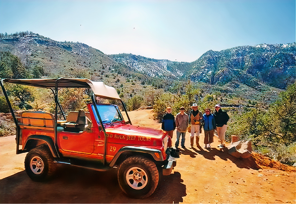 Things to do in Sedona, Arizona. Red Rock Jeep Tour.
