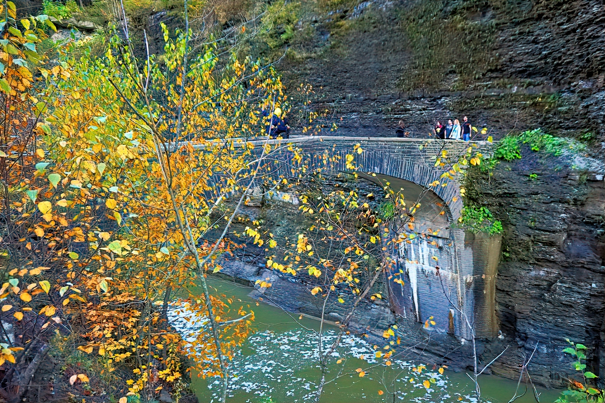 Miles of hiking trails await at Letchworth State Park.