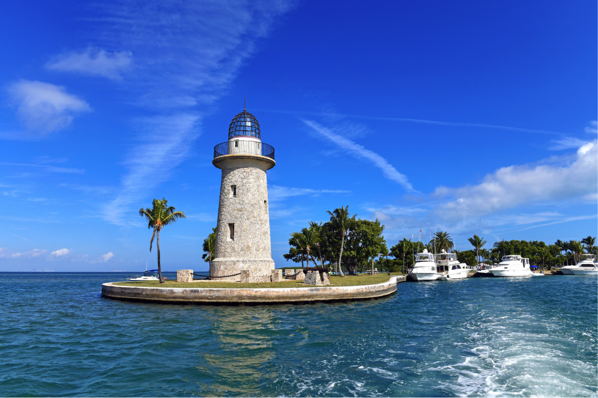 The best national parks to visit in winter. Biscayne National Park,