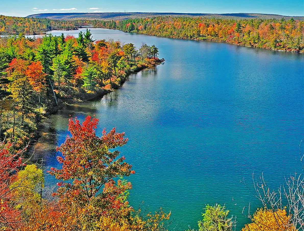 Hiking trails at Minnewaska State Park deliver incredible views.