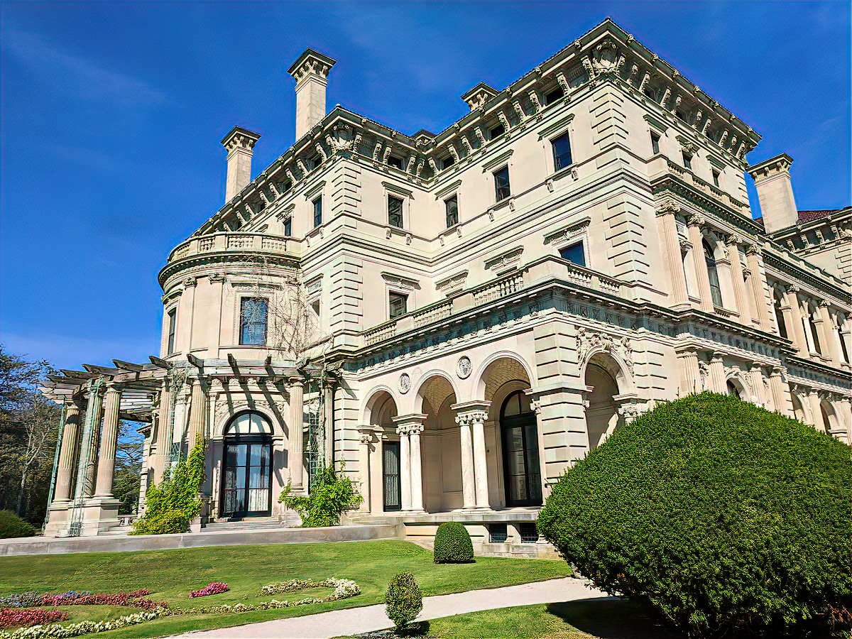 The Breakers mansion became a National Historic Landmark in 1994.