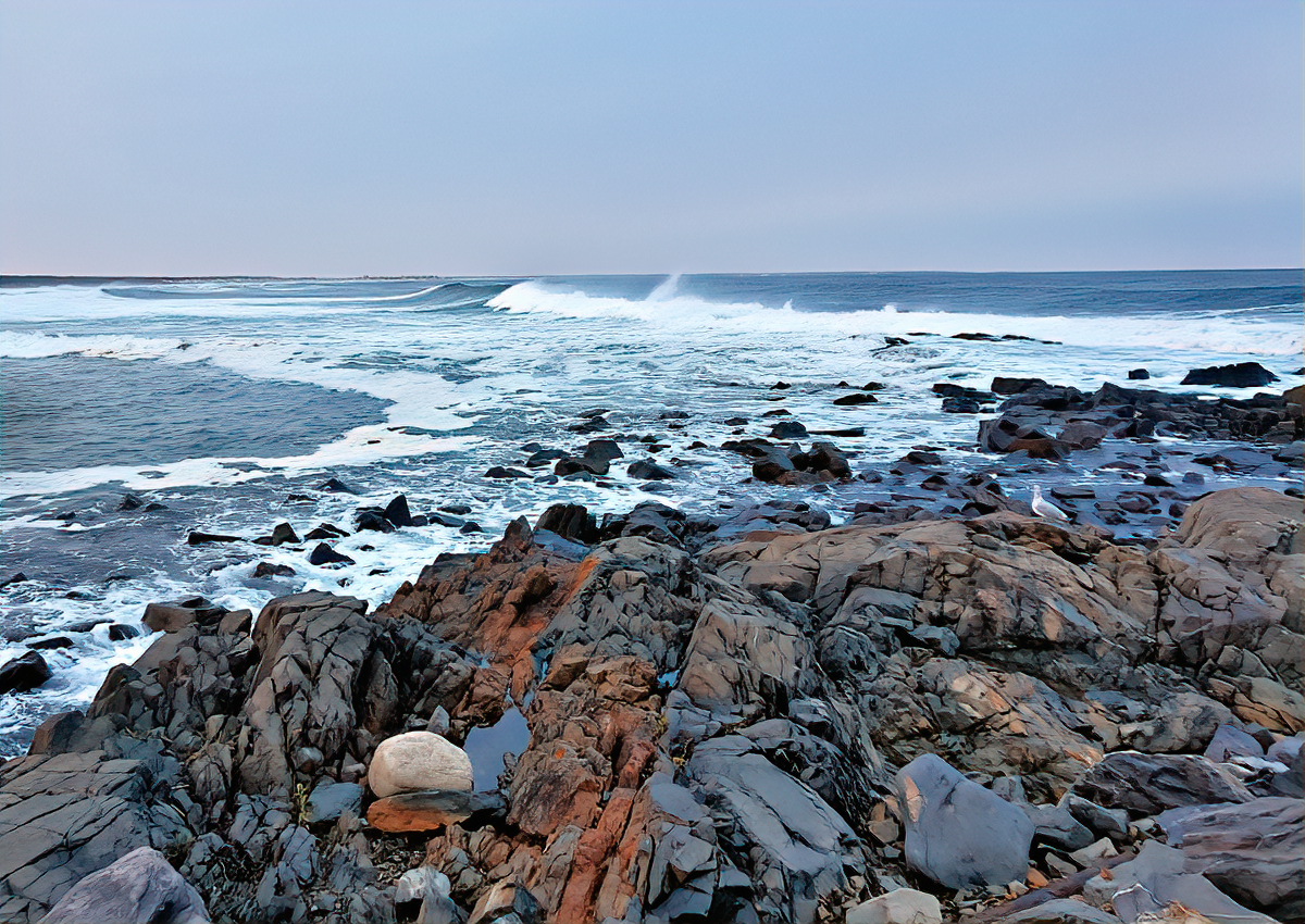 In Ogunquit you are never far from the water.