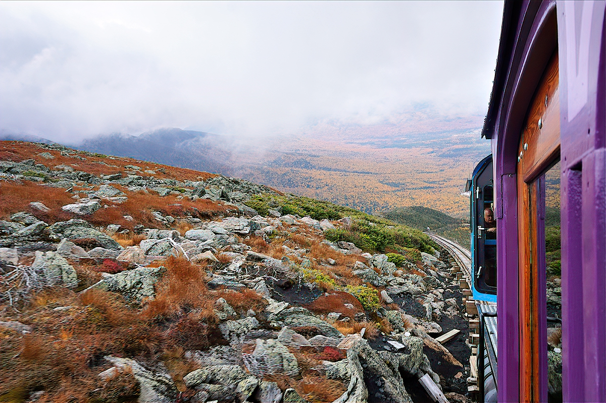 Mount Washington Cog Railway.