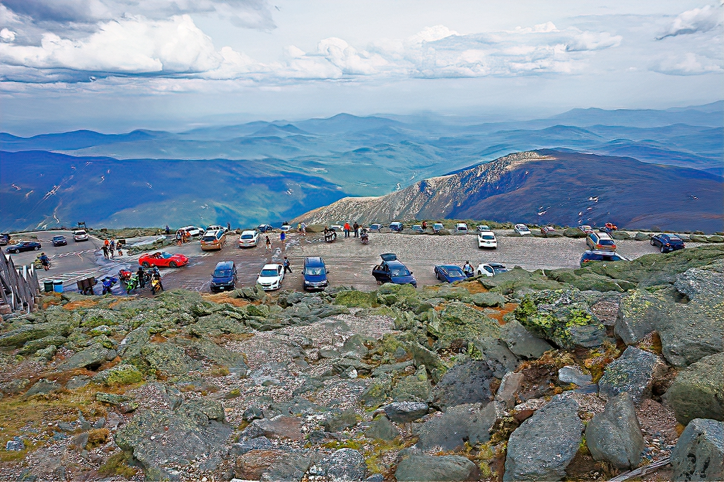 These cars made it to the top of Mount Washington.