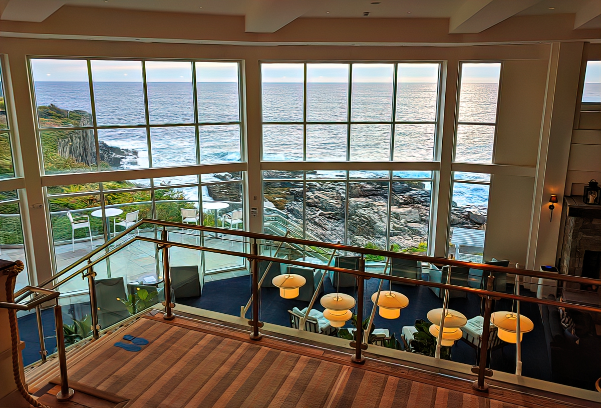 This view will greet you at Cliff House as soon as you walk in.