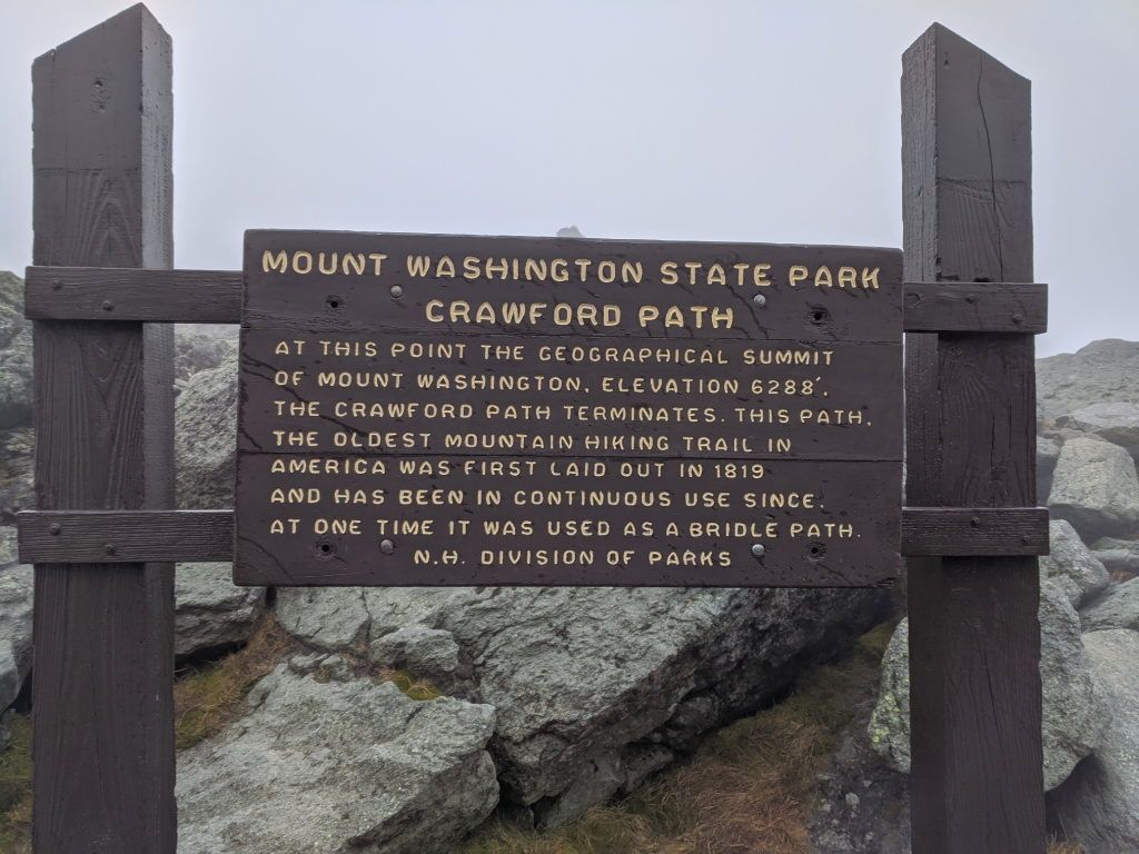 The Crawford Path is a 8.5 mile spectacularly scenic trail is the oldest, continuously maintained, hiking path in America.