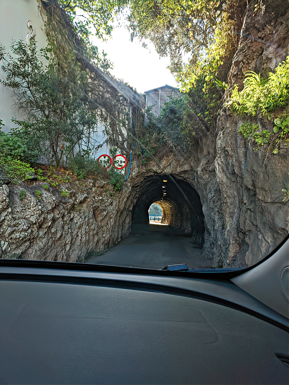 Gibraltar - road tunnel.