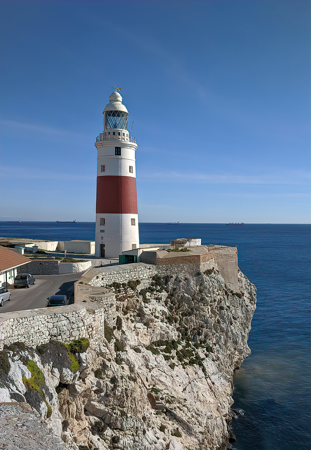 Gibraltar's Trinity Lighthouse