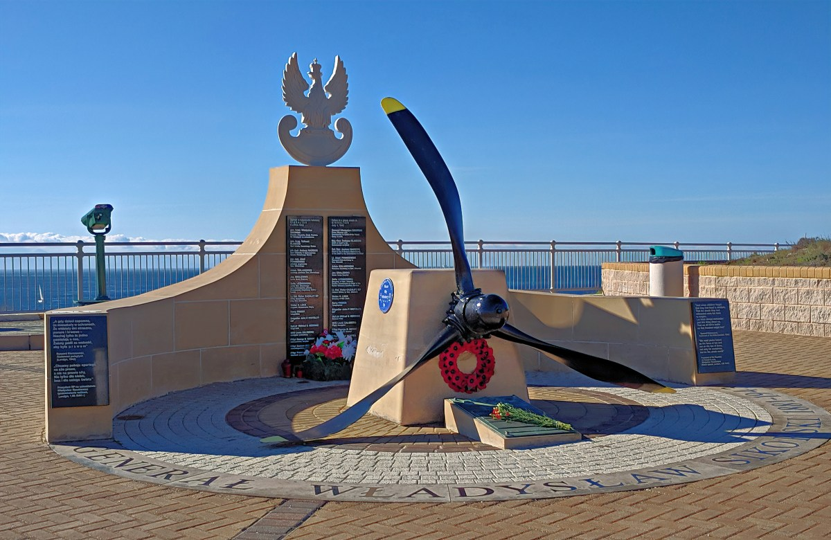 Sikorski Memorial in Gibraltar.