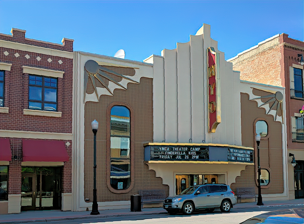 WYO theater is a place for stage performances in Sheridan, Wyoming.