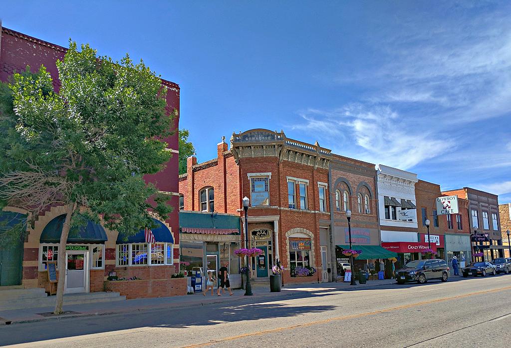 Main Street - Sheridan, Wyoming.