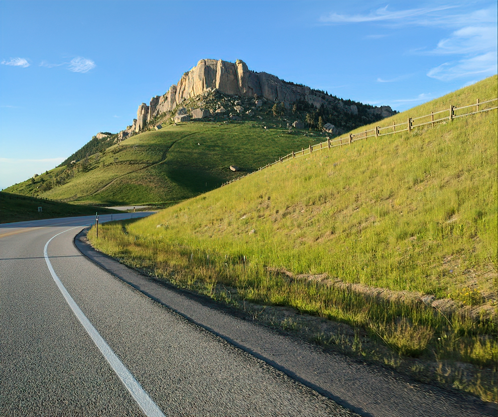 Bighorn Mountains just outside of Sheridan, Wyoming.