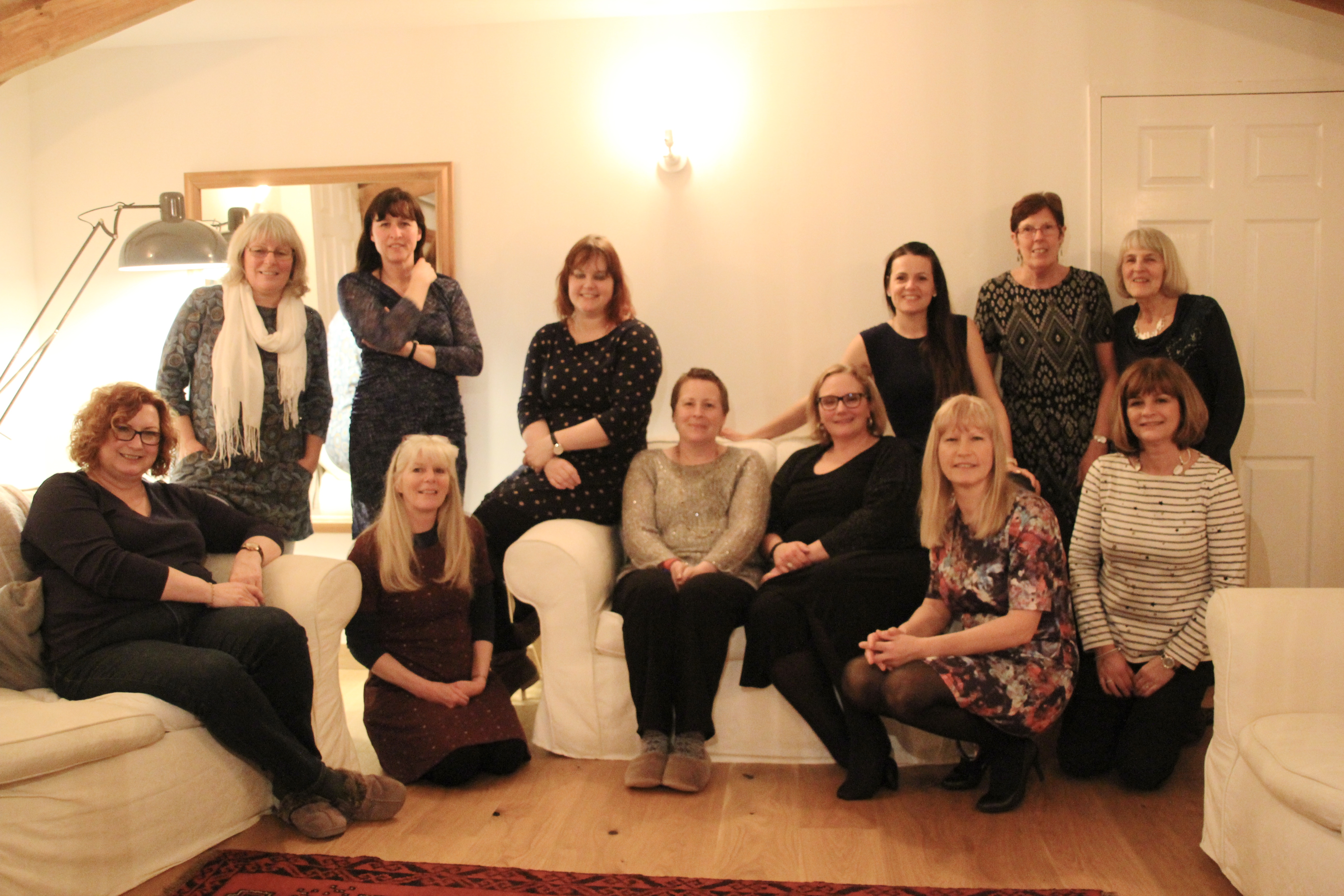 sewing retreat, new friends, totnes, devon