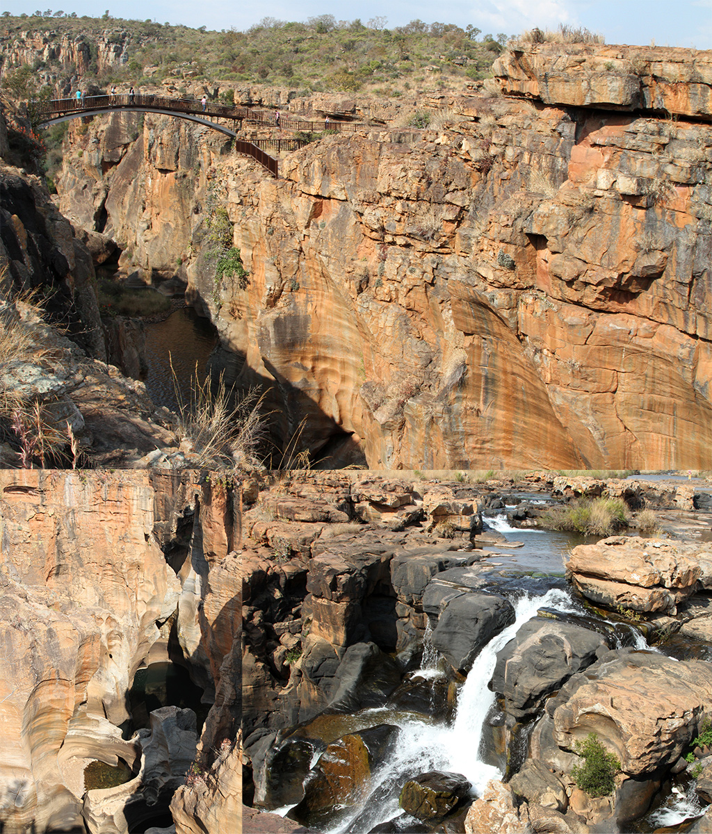 bourke's luck potholes - Panoramaroute