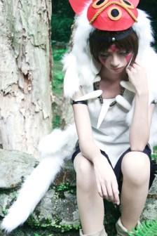 Yui as San (Princess Mononoke)