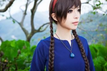 Yui as Sheeta (Laputa: Castle in the Sky)