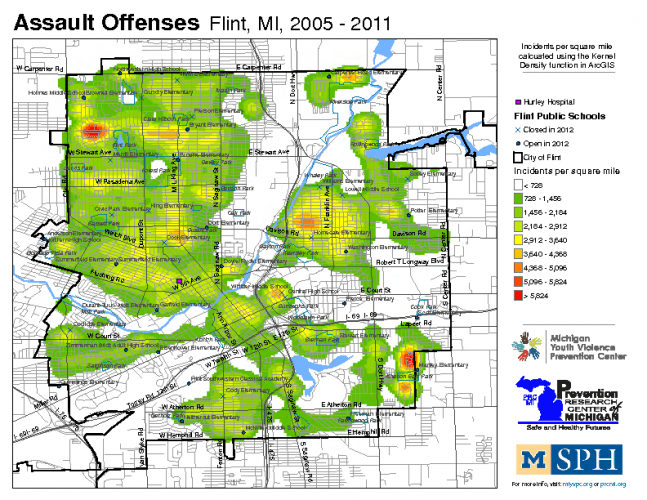 Assault Offenses (2005-2011)