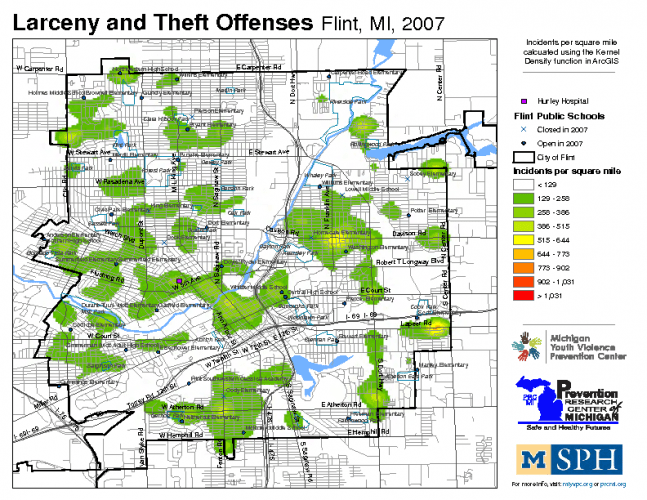 Larceny & Theft Offenses (2007)