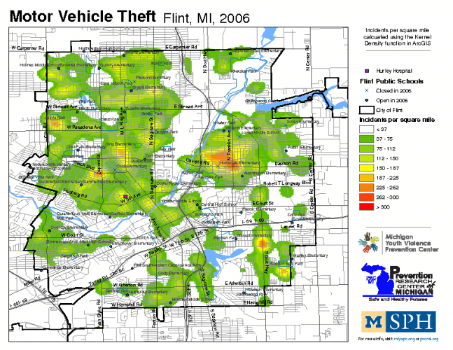 Motor Vehicle Theft (2006)