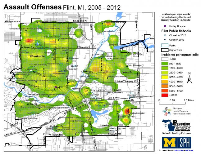 Assault Offenses (2005-2012)
