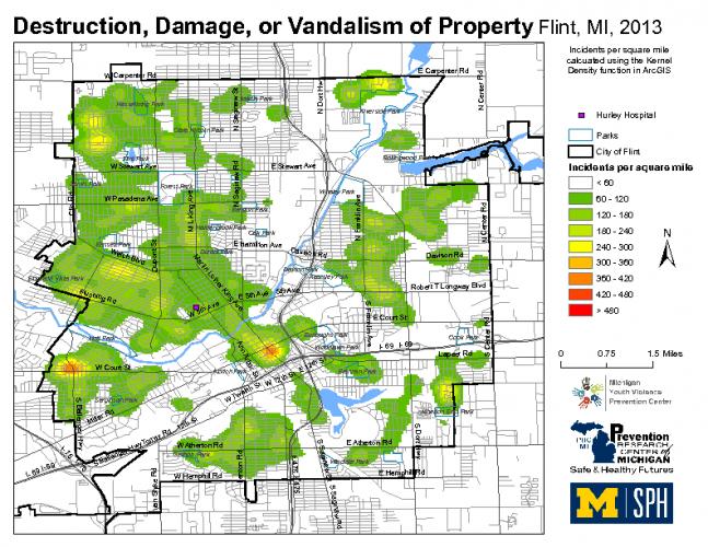 Destruction, Damage, or Vandalism of Property (2013)