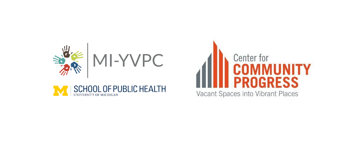 The logos of MI-YVPC, CCP, and UM SPH.