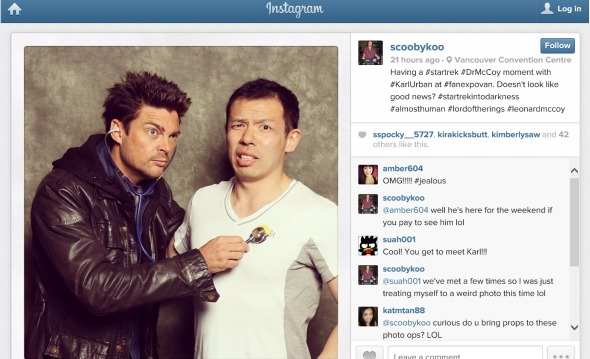 karl urban & scoobykoo