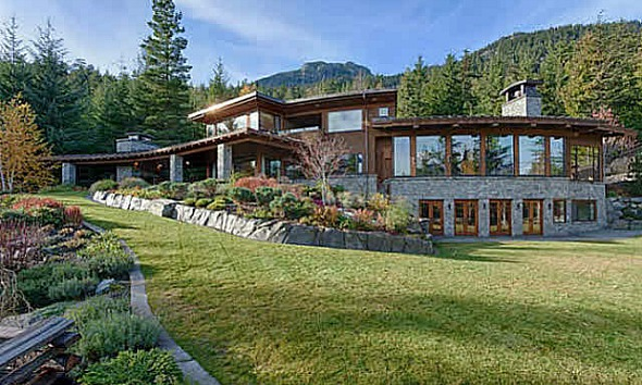 Shoot fifty shades freed at gated whistler estate as 50 shades of grey house